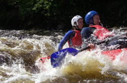 White Water rafting Aviemore, Scotland