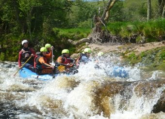 stag and hen white water rafting