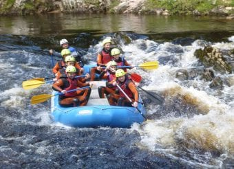 White Water Rafting River Findhorn