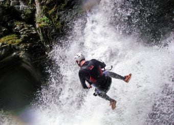 Stag and Hen Canyoning