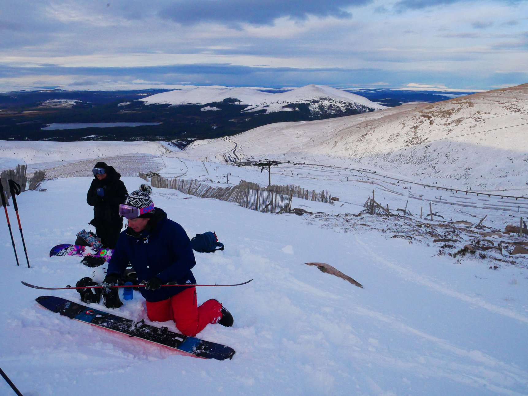 Splitboard Courses Scotland