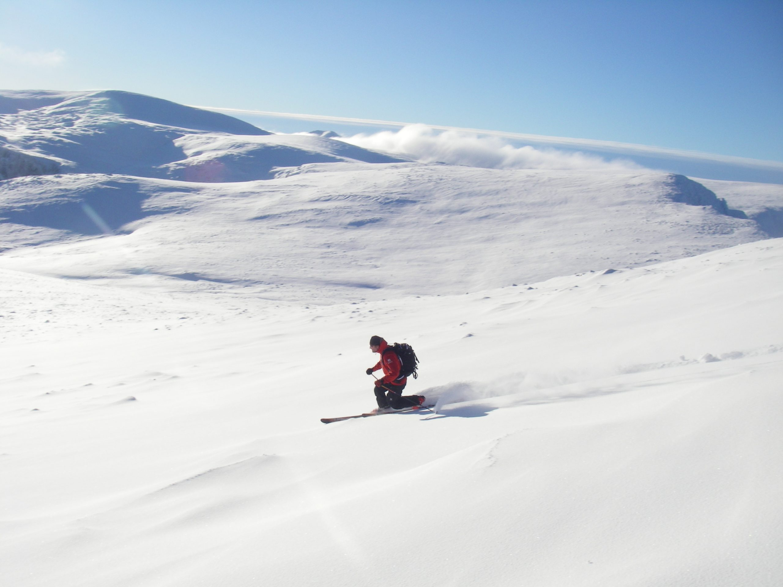 Scottish Ski touring and Splitboarding